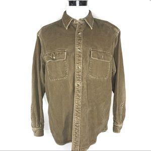 Eddie Bauer Mens corduroy jacket size large